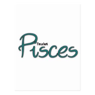 I'm A Hot Pisces Postcard