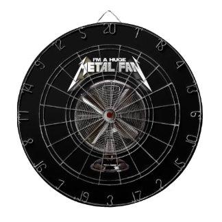 I'm a Huge Metal Fan - Pedestal Fan Dartboard