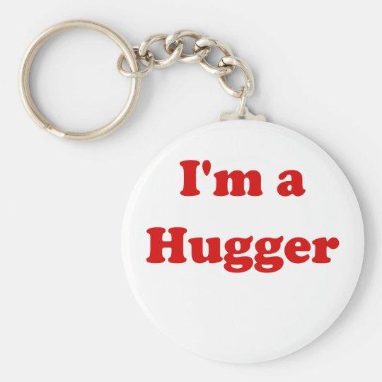 Im a Hugger Key Ring