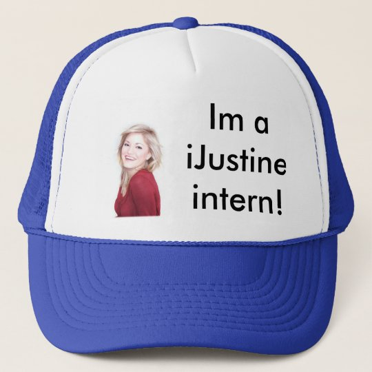 Im a iJustine intern! Trucker Hat