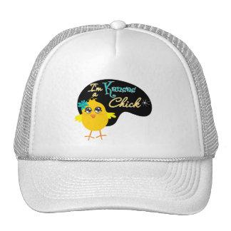 I'm a Kansas Chick Trucker Hats