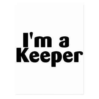 Im A Keeper Postcard