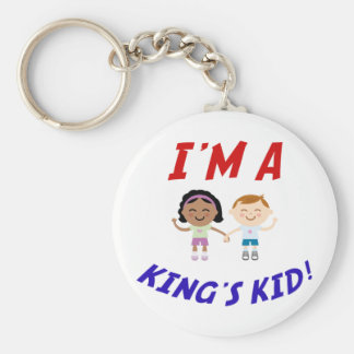 I'm a King's Kid Keychain
