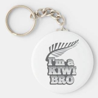 I'm a KIWI (New Zealand) Basic Round Button Key Ring