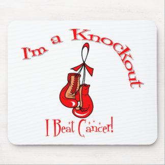 I'm A Knockout I Beat Blood Cancer Mouse Pad