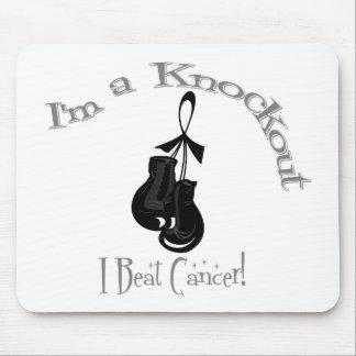 I'm A Knockout I Beat Skin Cancer Mouse Pad