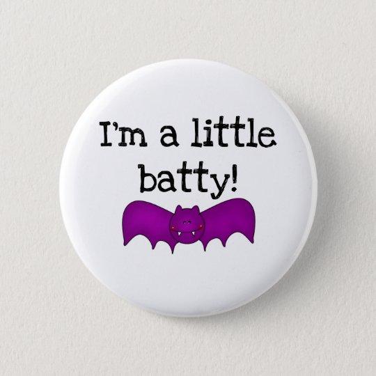 I'm a Little Batty 6 Cm Round Badge