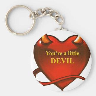 I'm a little devil key ring