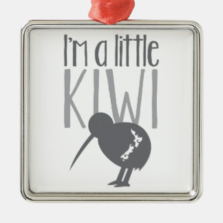 I'm a little kiwi with cute New Zealand bird Christmas Ornament