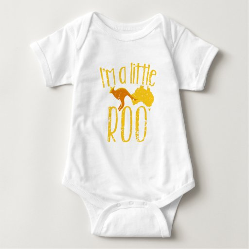I'm a little roo baby maternity cute design Baby Bodysuit