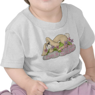 I'm a Little Sister bunny Tee Shirt