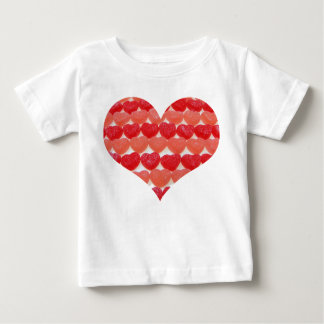 I'm A Little Sweety Candy Hearts Baby T-Shirt