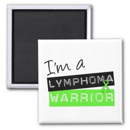 I'm a Lymphoma Warrior Refrigerator Magnet