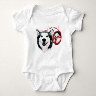 I'm a Malamute, I'm not a Husky Baby Bodysuit