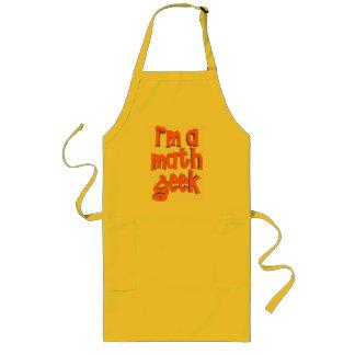I'm a math geek long apron