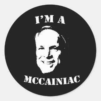 I'm a McCainiac Sticker