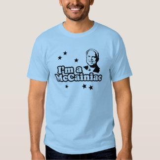 I'm a McCainiac Tee Shirts