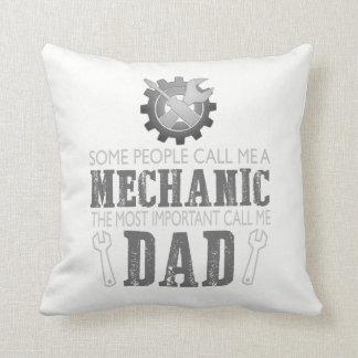 I'm a mechanic and I'm a dad Cushion