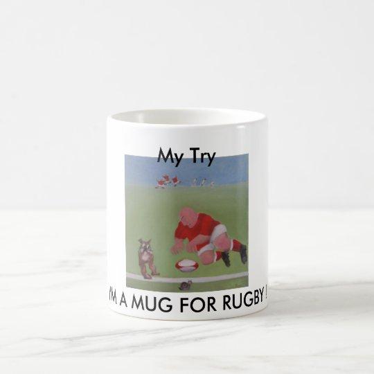 I'M A MUG FOR RUGBY !,