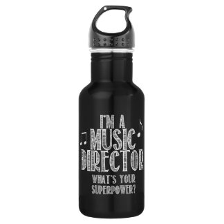 I'm a Music Director, What's Your Superpower 532 Ml Water Bottle