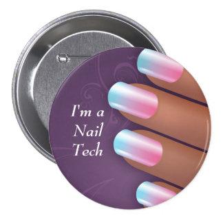 I'm a Nail Tech Button