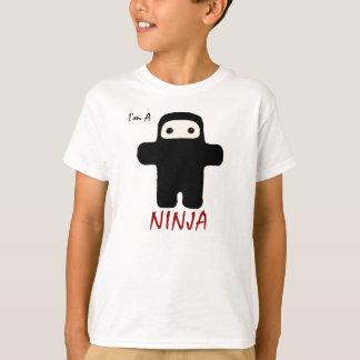 I'm A Ninja in Black kids T-Shirt