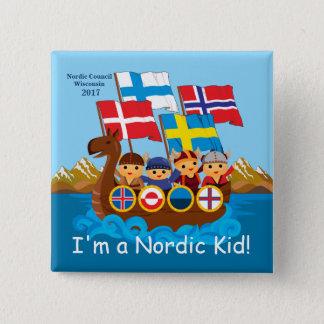 I'm a Nordic Kid Button