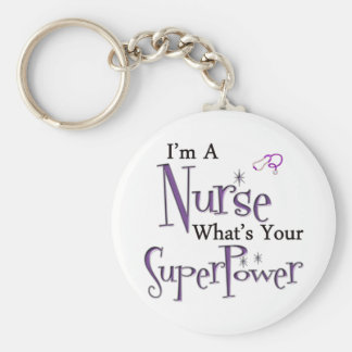 I'm A Nurse Key Ring