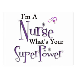 I'm A Nurse Postcard