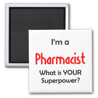 i'm a pharmacist square magnet