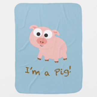 I'm a pig! buggy blankets