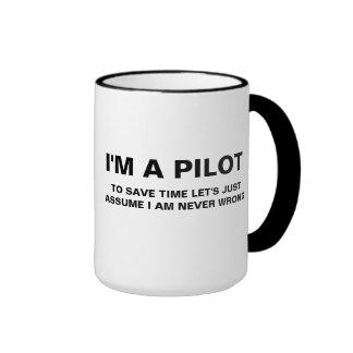 I'M A PILOT COFFEE MUG