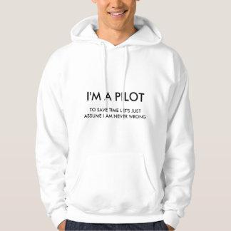 I'M A PILOT HOODIE