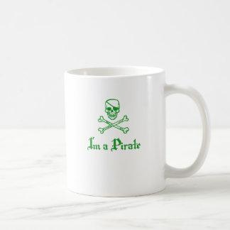 Im a Pirate Basic White Mug