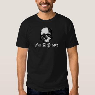 I'm A Pirate on dark T-shirt
