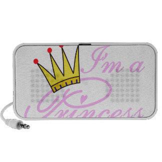 I'm A Princess Portable Speakers