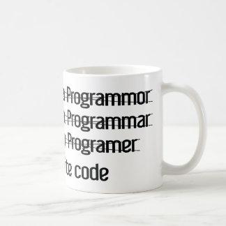 I'm A Programer. I Write Code Coffee Mug
