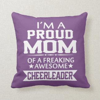 I'M A PROUD CHEERLEADER's MOM Cushion