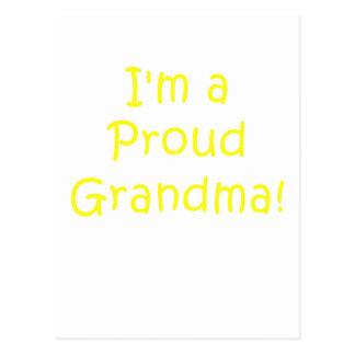 Im a Proud Grandma Postcard