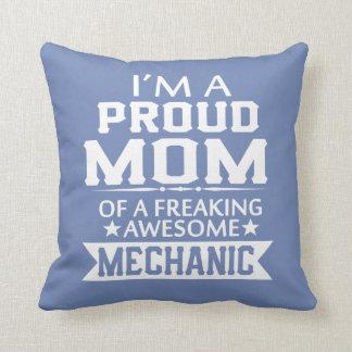 I'M A PROUD MECHANIC'S MOM CUSHION