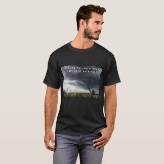 """Im a raging storm.."", self belief messaged tshirt"