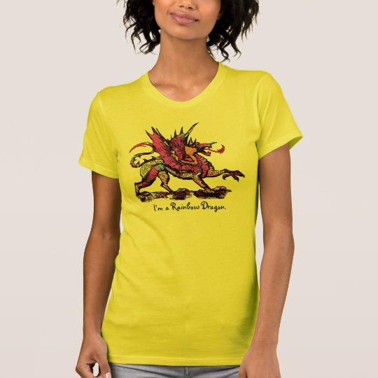 I'm a Rainbow Dragon. T-Shirt