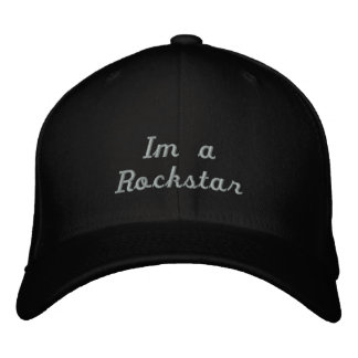 Im a rockstar hat baseball cap