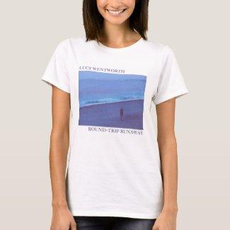"""I'm a Round-Trip Runaway"" Womens T-Shirt"
