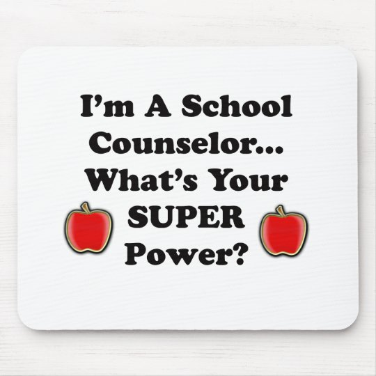 I'm a School Counsellor Mouse Mat