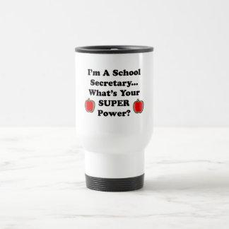 I'm a School Secretary Stainless Steel Travel Mug
