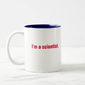 I'm a scientist. What's your super power? Mug