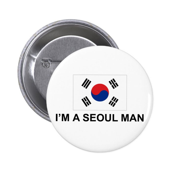 I'm a Seoul Man 6 Cm Round Badge