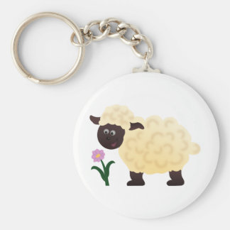 I'm a Sheep Basic Round Button Key Ring