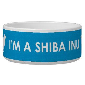I'm a Shiba Inu Blue Bowl